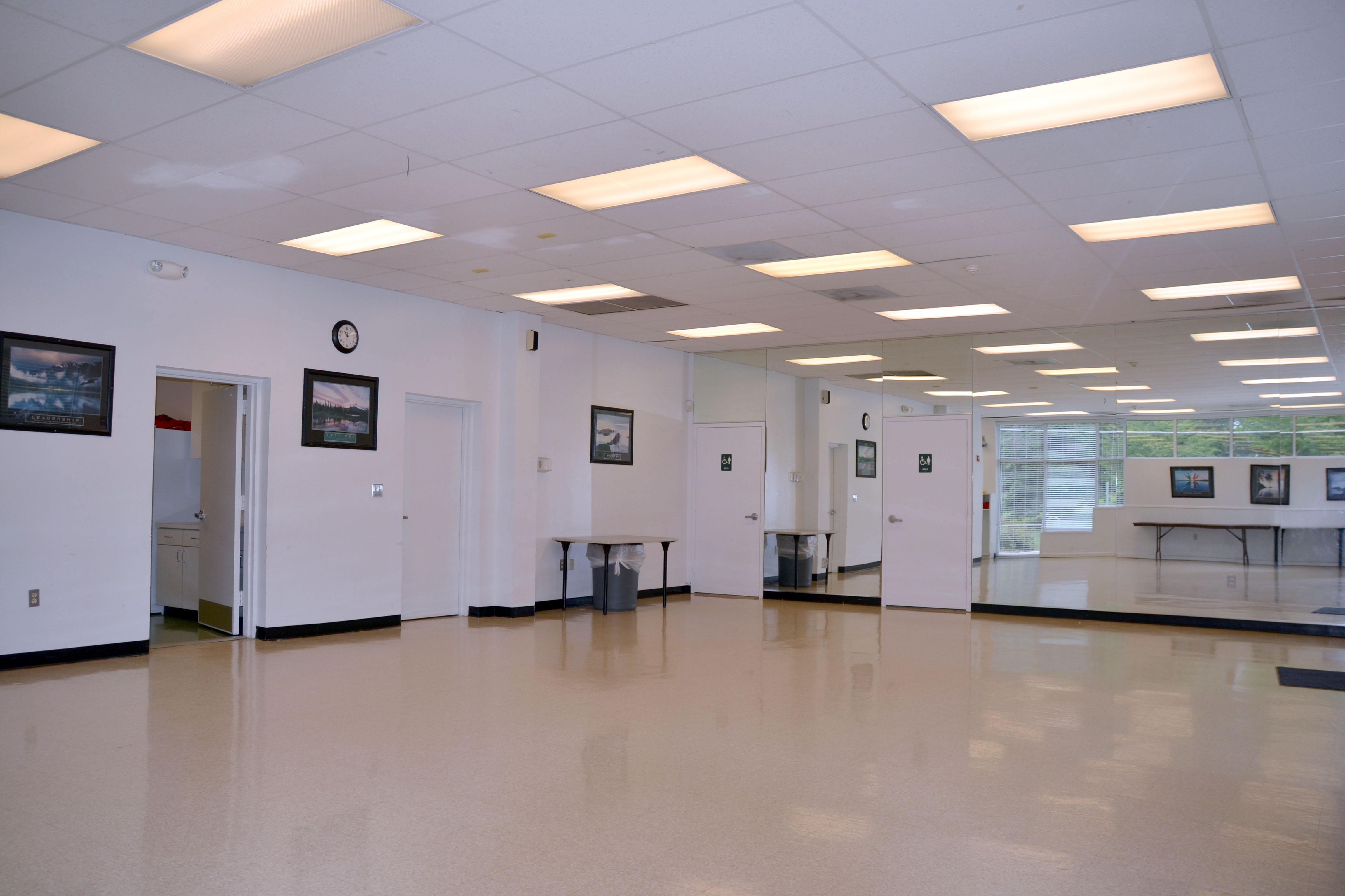 Multipurpose room at the Lincoln Park Community Center
