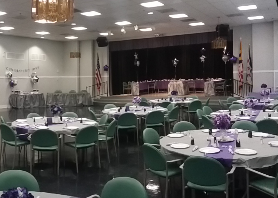 Carnation Room at the Senior Center