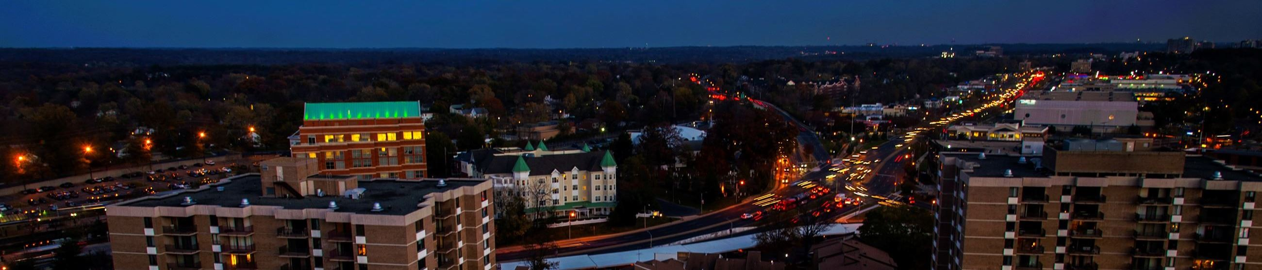 Aerial of Downtown Rockville
