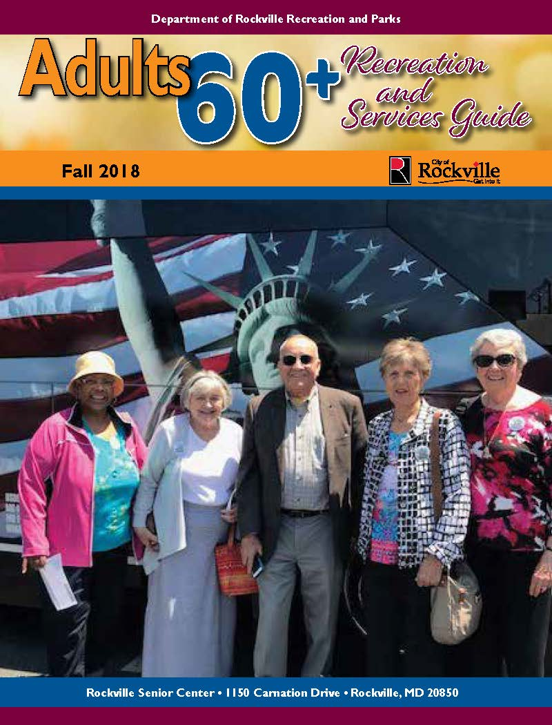 Adults 60+ Recreation and Services Guide Fall 2018