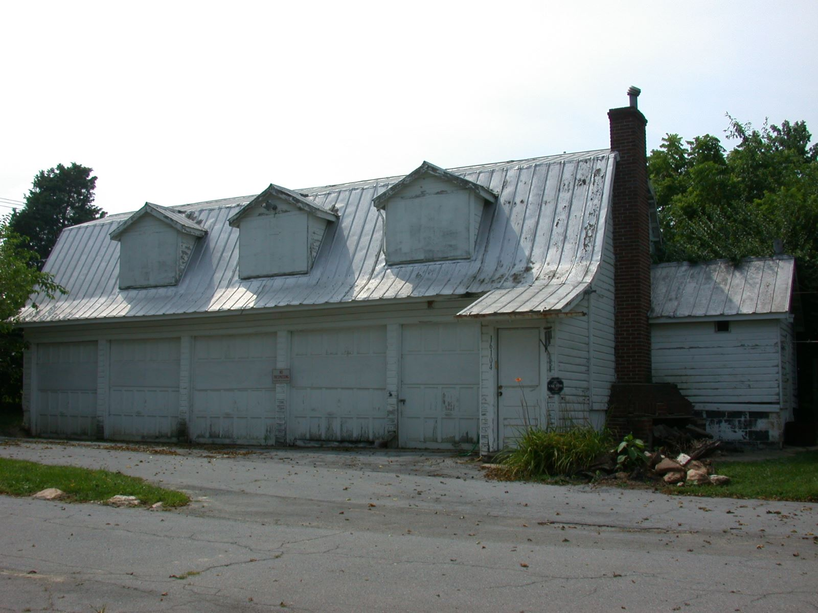 King Farm Farmstead garage