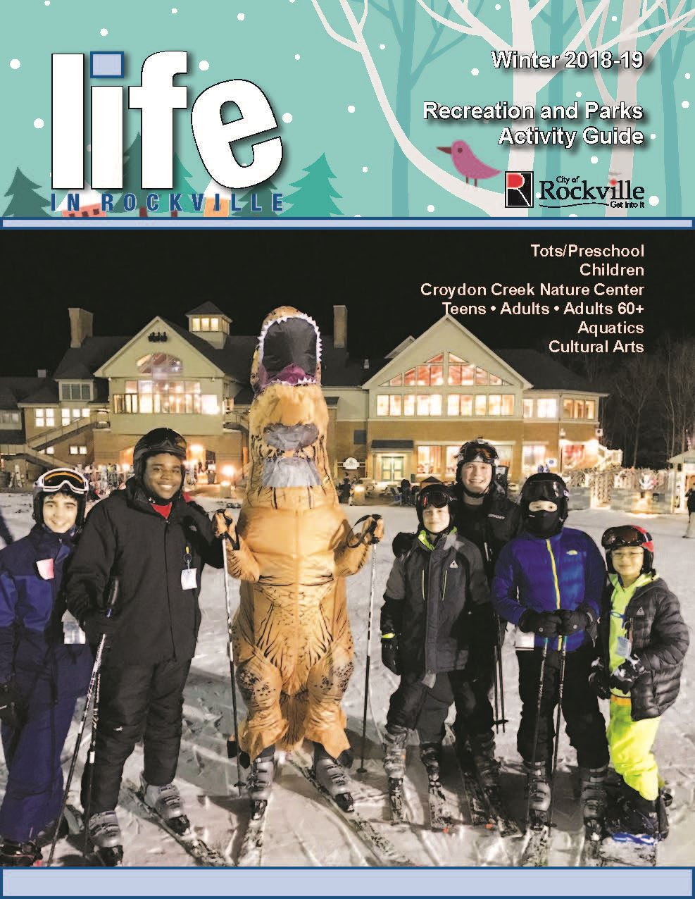 Winter recreation guide 2019 cover