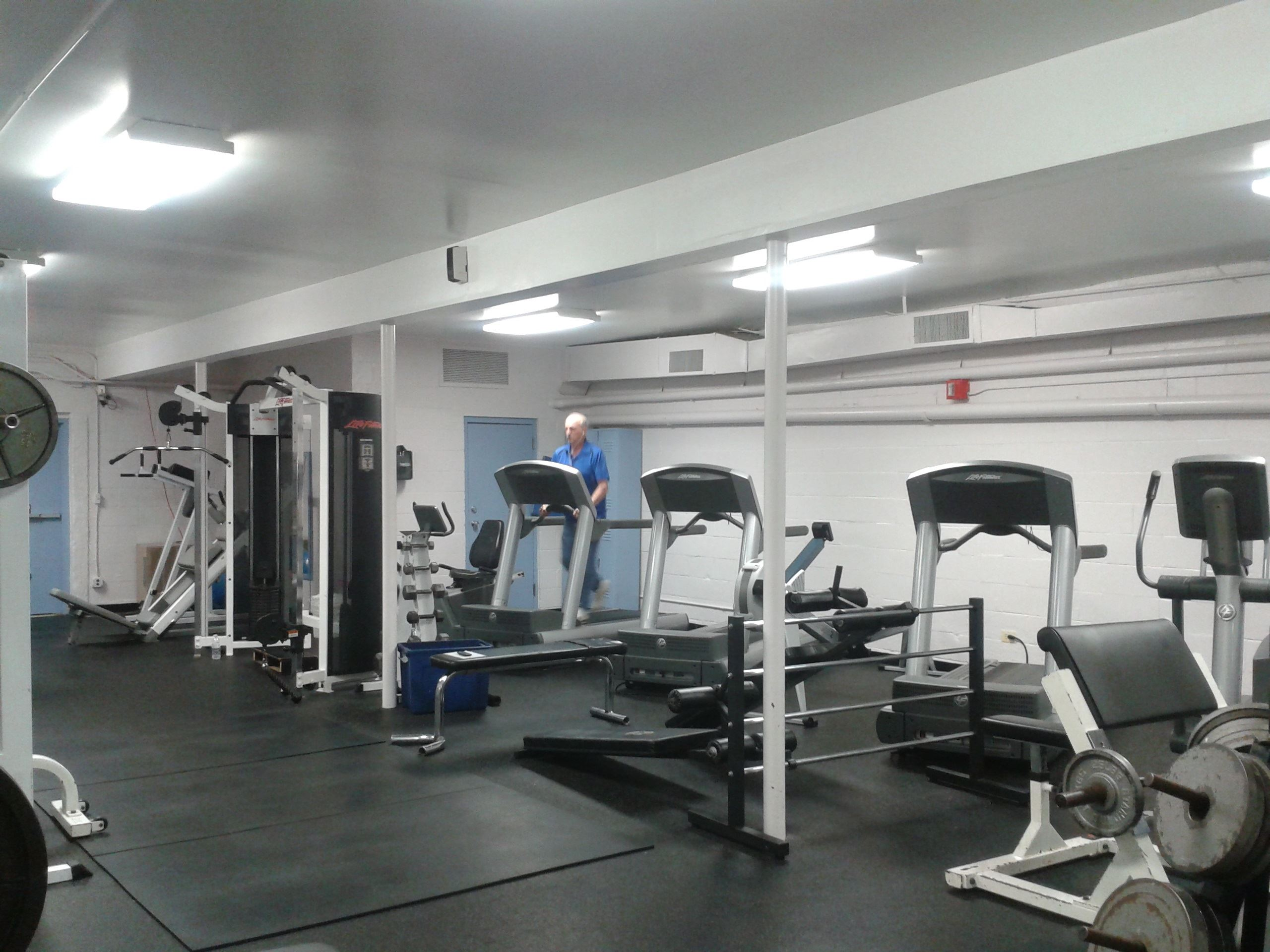 Lincoln Park Community Center Fitness Room