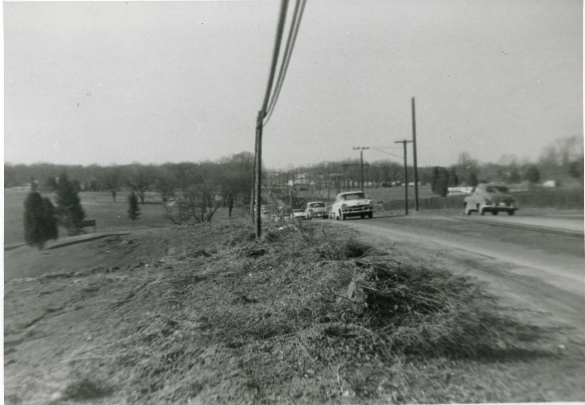 Historical Photo of Rockville Pike, Credit Peerless Rockville