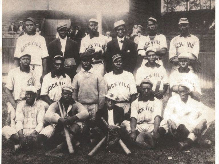 Historical Photo of Rockville Baseball Team