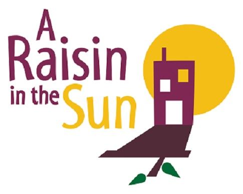 Raisin in the Sun text with a sun and house casting a shadow