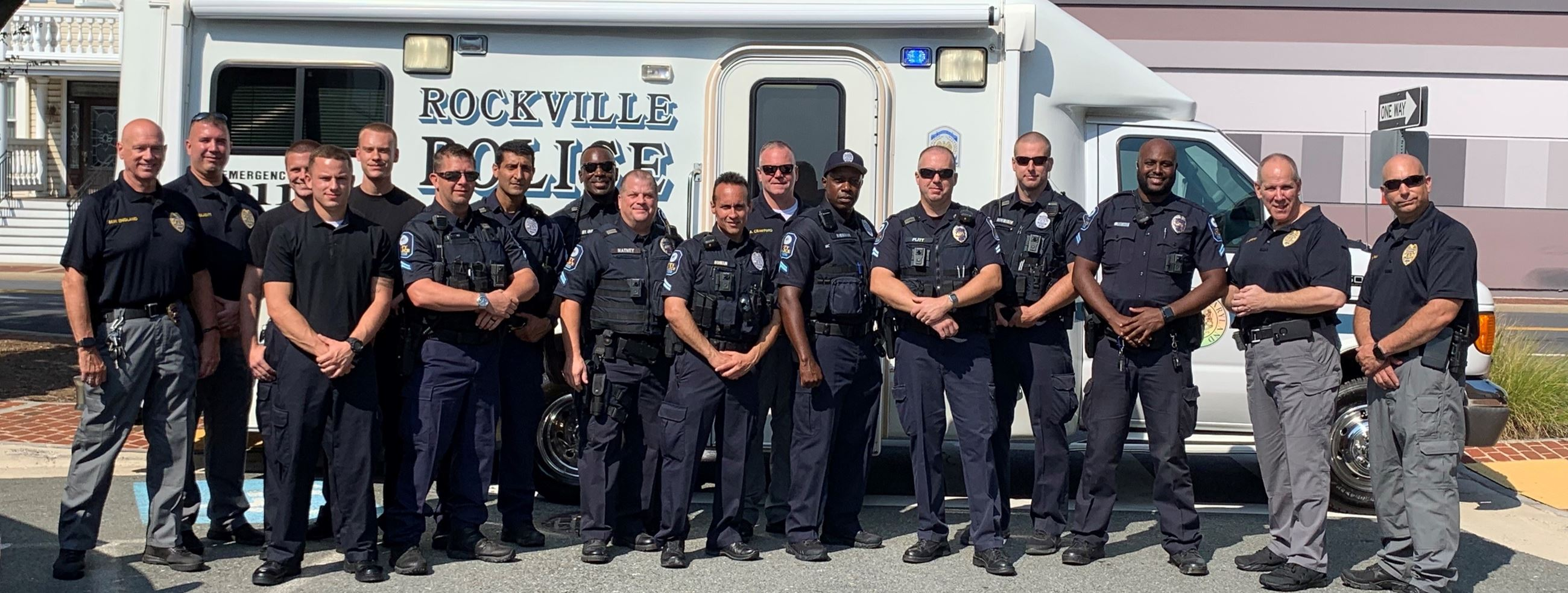 Rockville Police Officers