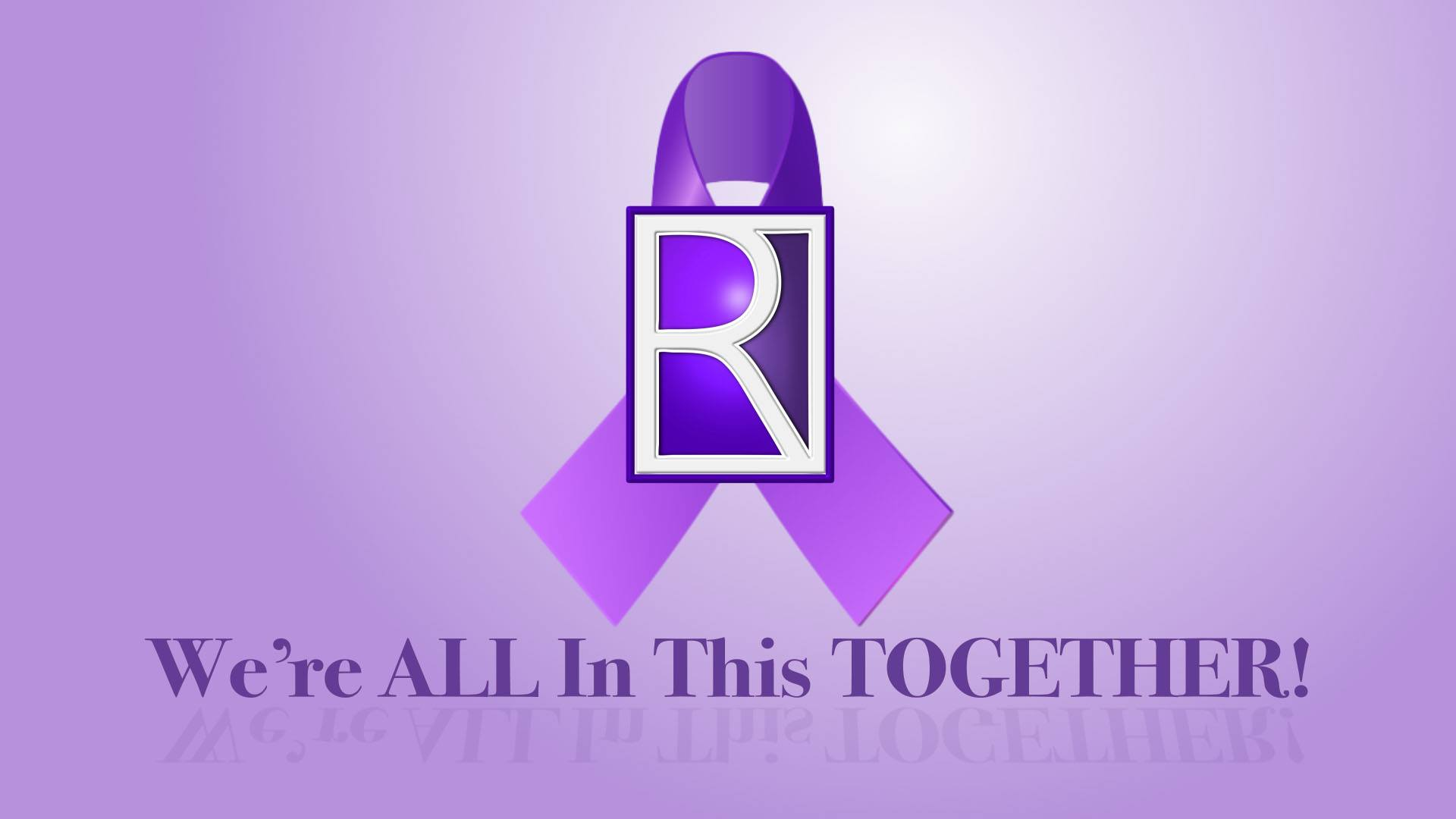 Rockville Goes Purple Logo