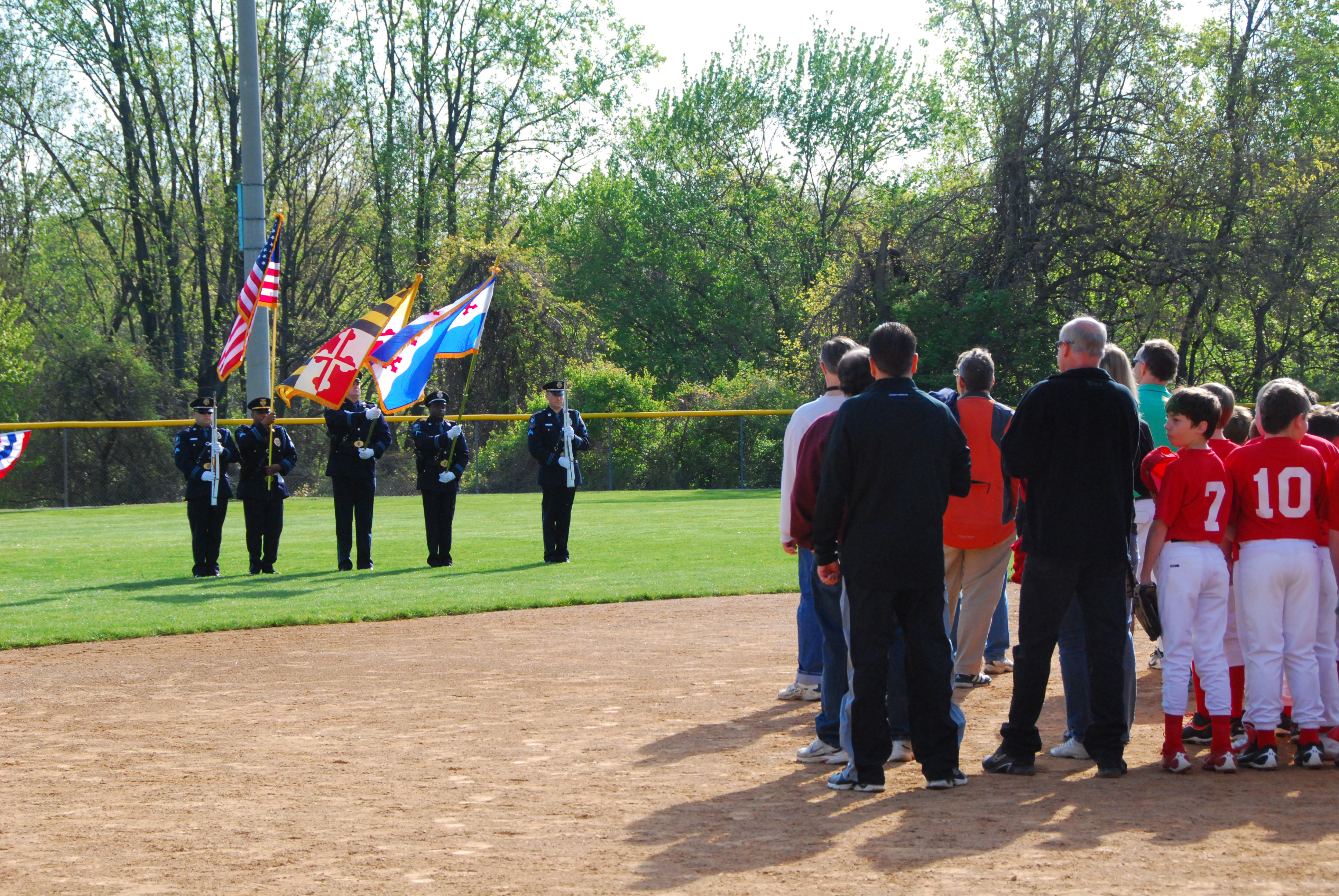 Dogwood Baseball Field - Opening Day
