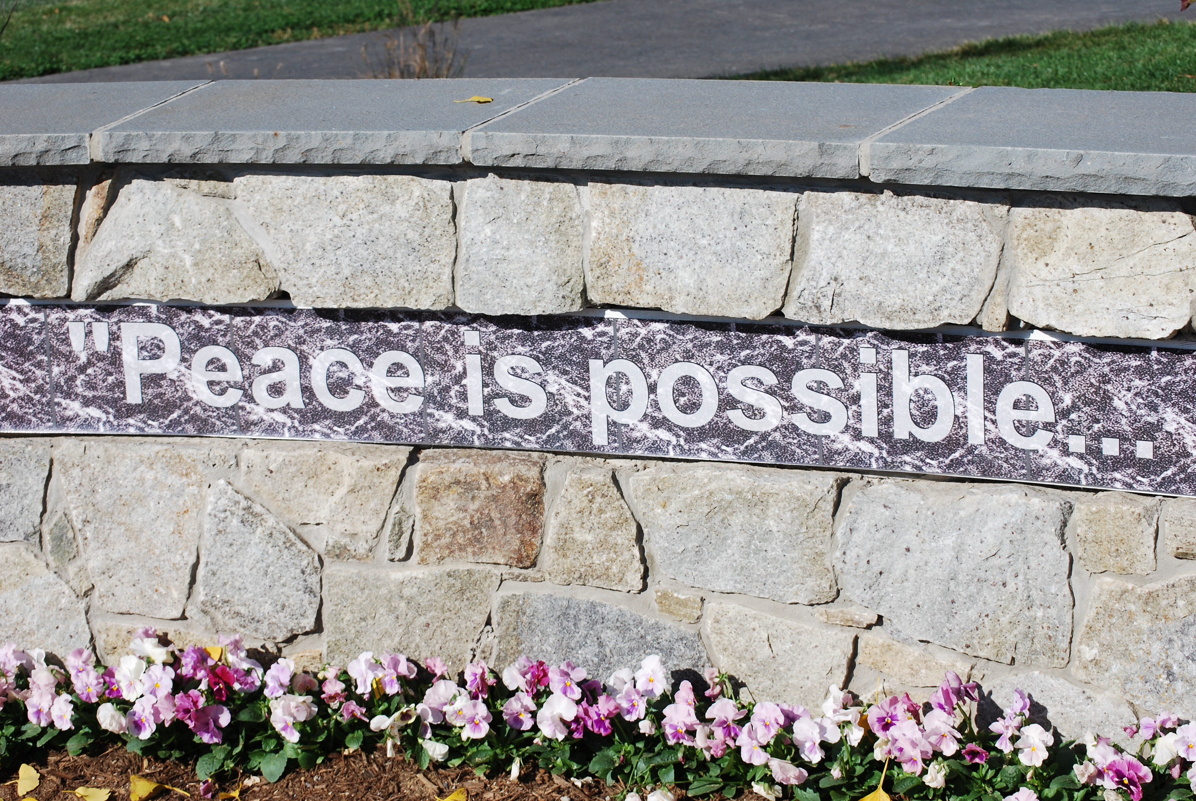 Mattie Stepanek Park - Peace is Possible