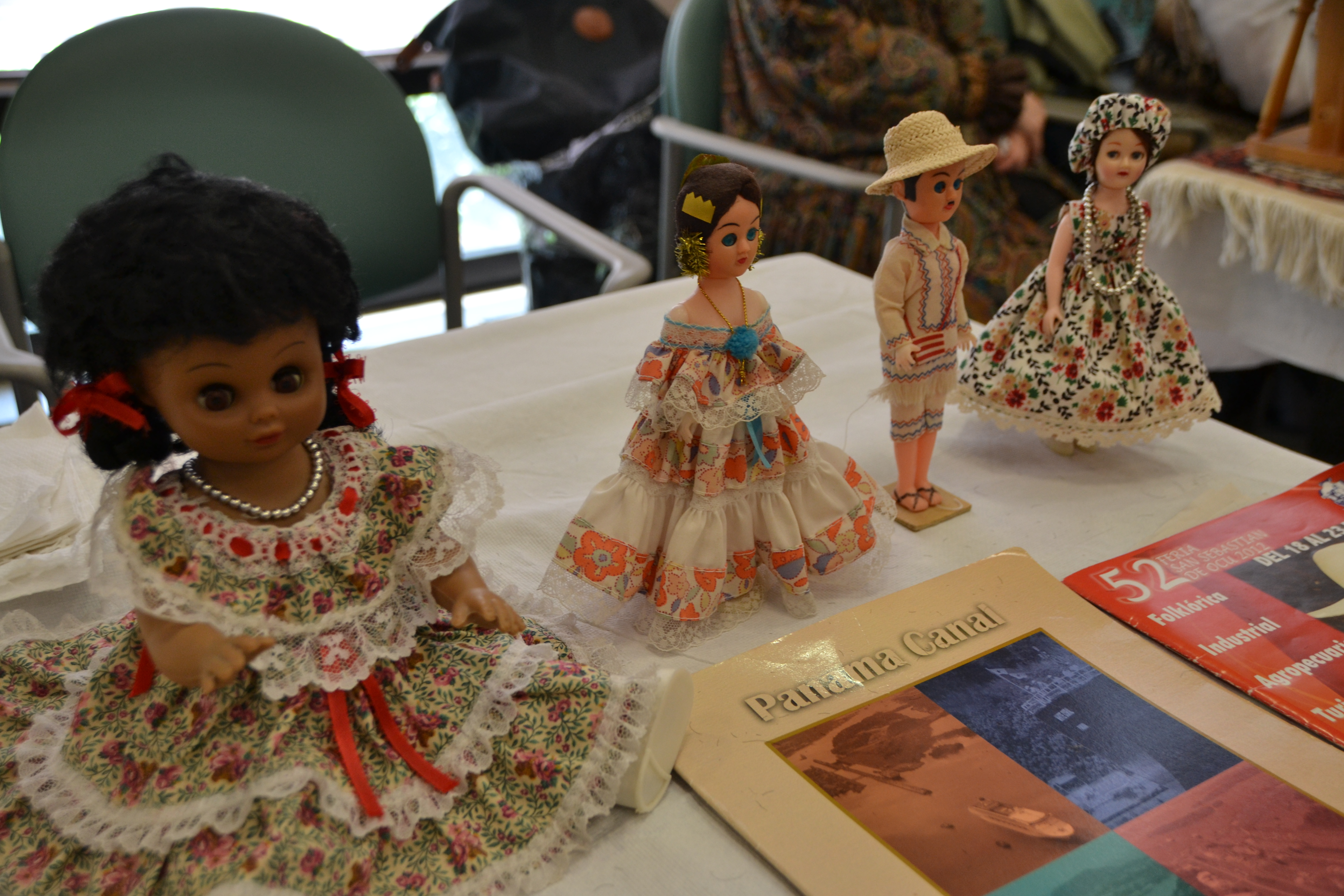 Children's dolls from Panama.