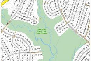 Watts Branch Project Limits