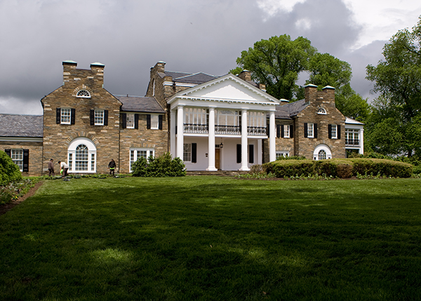 Outside of Glenview Mansion