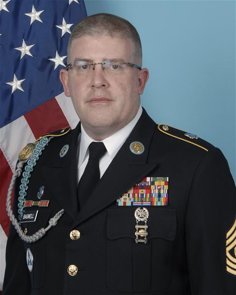 Command Sergeant Major Ross Bagwell