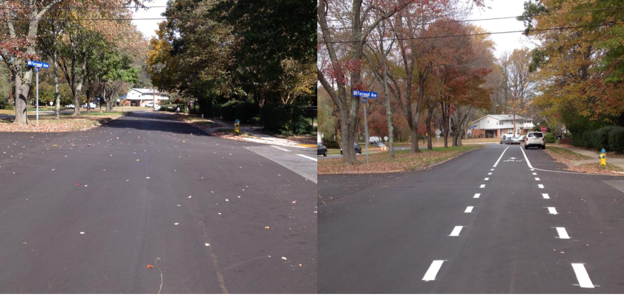 Broadwood Dr Before and After