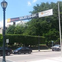 Rockville Solar Co-op Banner