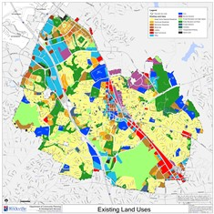 Existing Land Use map thumbnail