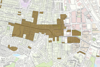 Historic Districts map thumbnail