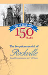 Cover of the Sesquicentennial of Rockville pamphlet