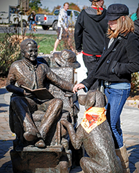 Mattie J. T. Stepanek Statue
