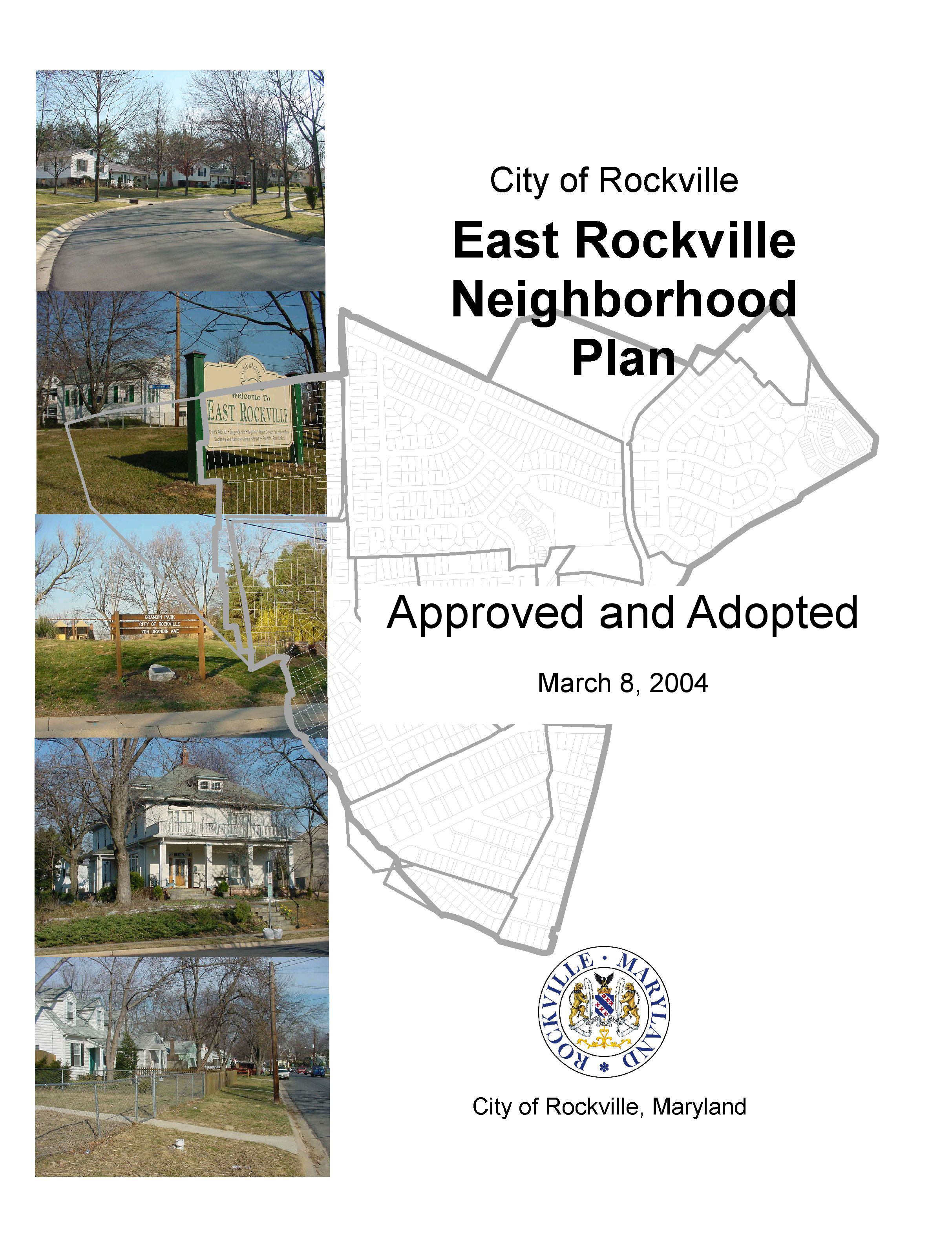 East Rockville Plan cover