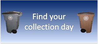 Button to find collection day.