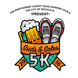 Suds and Soles race logo