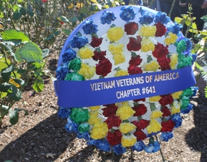 Vets day wreath