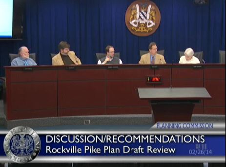 Planning Commission deliberations